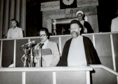 Dr. Beheshti pictures in Tehran between 1978 to 1981
